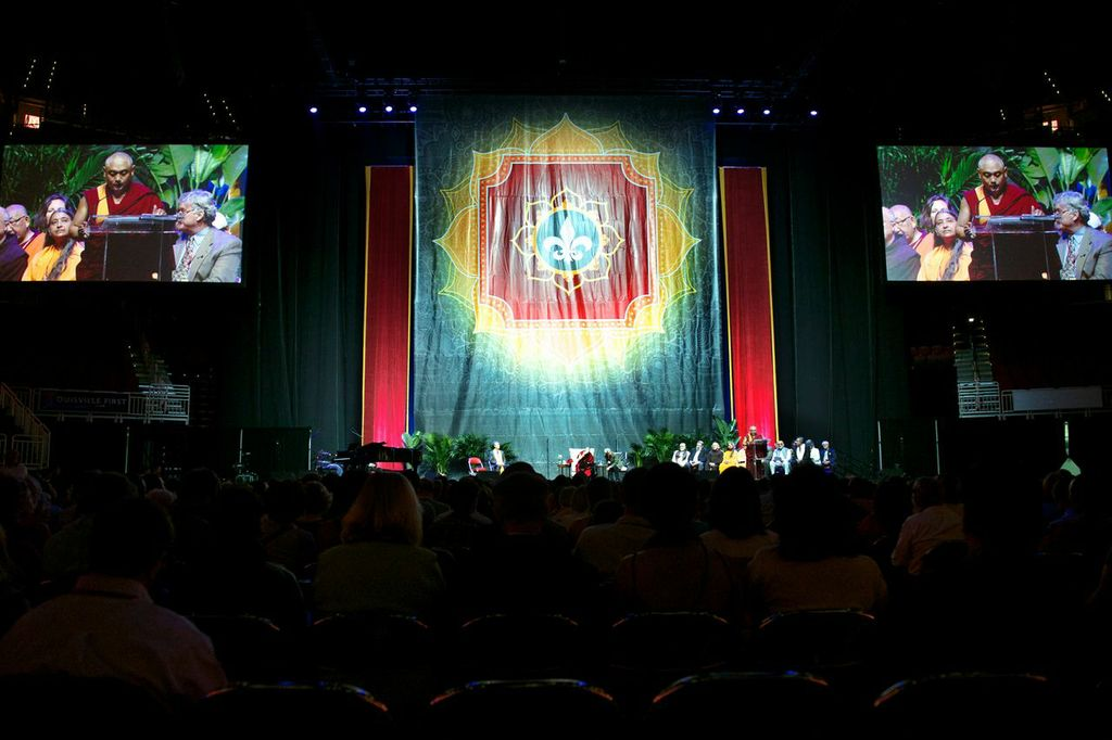 yum center dalai lama feng shui backdrop